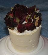 Rosenseifen-Cupcakes