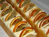 Tangerine Traum-Cremeseife mit Lorbeerblatt und Orangenscheibe pro Seifenstück - AUSVERKAUFT