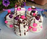 Beerenwaffeln-Seifentörtchen - Ganzjahres Seifentörtchen