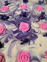 Rose und Veilchen Frühjahrsseife