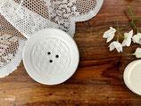 Runde Seifenschale mit Blume-des-Lebens-Muster