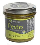 Pesto Genovese Tradizionale - klassisches, sehr aromatisches Basilikum Pesto 130 g