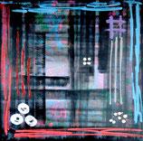 Hashtag Art, 80 x 80 cm