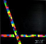 The Color Black, 80 x 80 cm