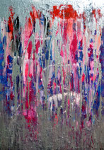 Shining In The Rain, 70 x 100cm