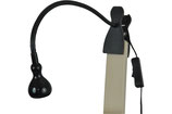 Clip on verlichting zwart/Clip on light black