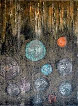 Planet Bronze, 60 x 80 cm