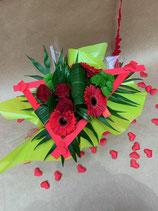 Bouquet bulle rond ST VALENTIN