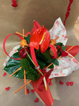 Bouquet bulle rond DESIR