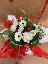 Bouquet bulle rond NUAGE DE TENDRESSE