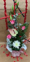 Bouquet bulle hauteur COUP DE COEUR