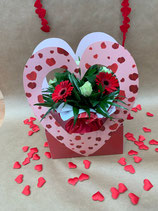 Bouquet bulle rond LOVELY
