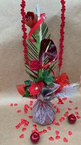 Bouquet bulle  hauteur DIAMANT