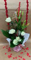 Bouquet bulle hauteur MON CHOUX