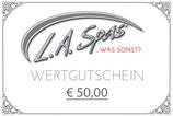 GUTSCHEIN € 50,00