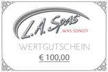GUTSCHEIN € 100,00