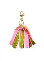 Porte-clés Froufrou vert et rose