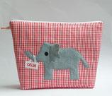 XL- Kulturbeutel Elefant Celia