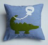 Kuschelkissen Krokodil Fritz