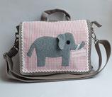 Kindergartenrucksack bzw. Umhängetasche Elefant Maximilia