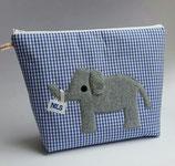 XL- Kulturbeutel Elefant Nils