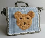 Kindergartenrucksack bzw. Umhängetasche Teddy Maxl