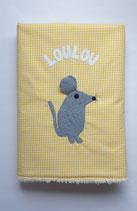 Babydecke (ca.70x95cm) Maus Loulou