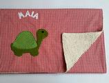Babydecke (ca.70x95cm) Schildkröte Maia