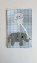 U- Hefthülle Elefant Jakob