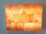 »Starter« Salzbild mit flachen oder gebrochener Oberflächen Salzsteinen
