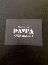 Danke Papa! • Silberkarte