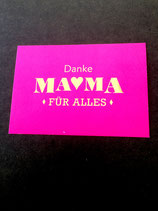 Danke Mama! • Goldkarte