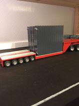 Materialcontainer für Tieflader