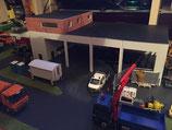 Garage mit Büro