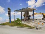 Tankstelle Abbruch