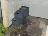 5x Schrottbehälter
