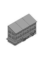 Häuserreihe - Relief