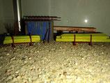 Holzschalungsträger mit Stapelrahmen