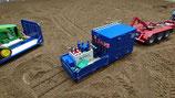 Materialcontainer mit Pritsche