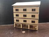 Wohnhaus mit Läden, Relief