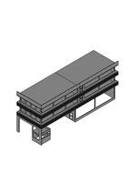 Verkauf- und Werkstatthalle