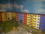 Modulares Reliefsystem, Gebäude