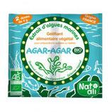 AGAR AGAR 2 SACHETS  DE 4 gr