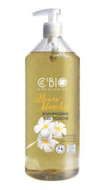SHAMPOING DOUCHE FLEURS BLANCHES  1 LITRE