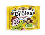DROLES DE CACAHOUETES enrobées de chocolat au lait 60gr