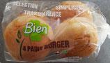 PAINS BURGERX4 200gr