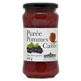 PUREE POMMES CASSIS 360gr
