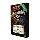 FILTRES A CAFE N°4 BRUNS x 40