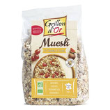 MÜESLI 4 CEREALES ET FRUITS 500gr