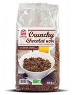CRUNCHY CHOCOLAT NOIR 375gr